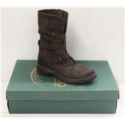 BUENO SZ 9 BROWN EAGLE GEMMA BOOTS