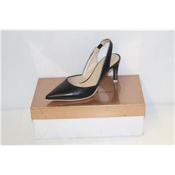 FRANCE MODE SZ 5 ODEON NOIR STILETTO