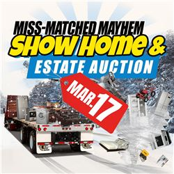 CHECK OUT THIS SUNDAYS MISS-MATCHED MAYHEM AUCTION