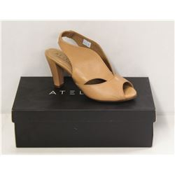 ATELIERS SZ 6 SOFTY NUDE DOWNEY-LEATHER HEELS