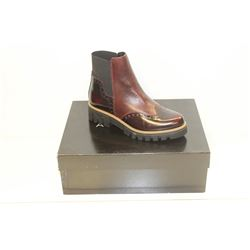 ATELIERS SZ 8.5  BORDO' SPLENDOR BARNEY LEATHER