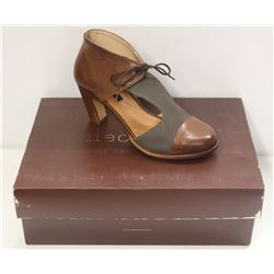 NEOSENS SZ 6.5 CUERO-SEQUIOA RESTORED SKIN PUMPS