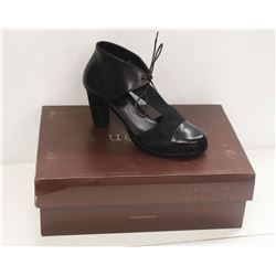 NEOSENS SZ 8.5 DARK EBONY RESTORED SKIN PUMPS