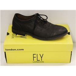 FLY LONDON SZ 8.5 BLACK MELO SEBTA SHOES