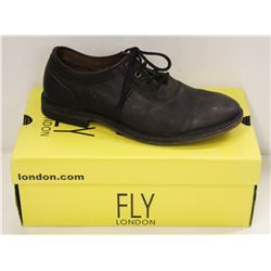FLY LONDON SZ 9 BLACK MELO SEBTA SHOES