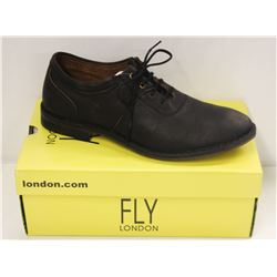 FLY LONDON SZ 10.5 BLACK MELO SEBTA SHOES