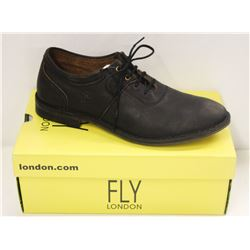 FLY LONDON SZ 11.5 BLACK MELO SEBTA SHOES