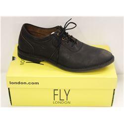 FLY LONDON SZ 11.5 BLACK MELO SEBTA SHOES