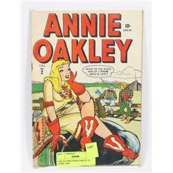 COLLECTORS ANNIE OAKLEY #2 COMIC 1948