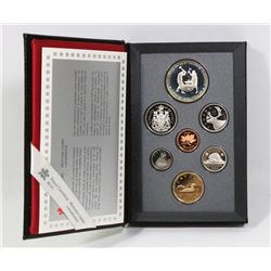 PROOF SILVER DOUBLE DOLLAR SET 1988 IRONWORKER