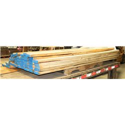 STACK OF 2X4 LUMBER