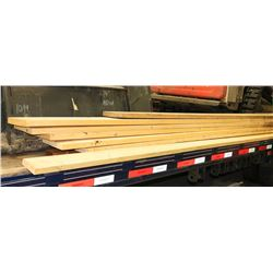 8 ASSORTED SIZE WOOD BOARDS