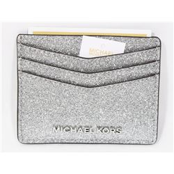 NEW AUTHENTIC MICHAEL KORS LEATHER CARD