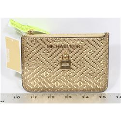 NEW AUTHENTIC MICHAEL KORS LEATHER WALLET