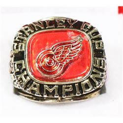 REPLICA DETROIT RED WINGS RING