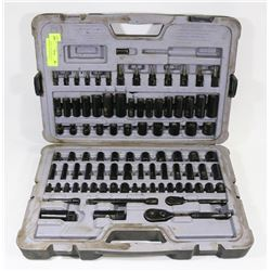 STANLEY 120PC SOCKET SET ( DAMAGED OUTSIDE CASE )