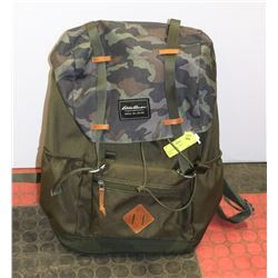 EDDIE BAUER CAMO AND GREEN BAG