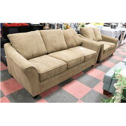 "NEW ""ALLEN"" 99"" SOFA AND 72"" LOVESEAT SET"