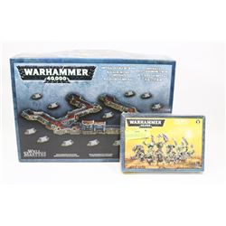 WARHAMMER 40K LOT OF 2 INCLUDING IMPERIAL DEFENCE