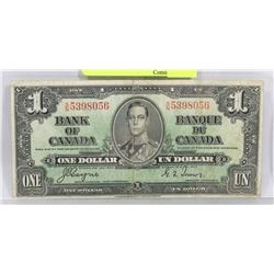1937 CANADIAN COYNE/TOWERS $1 BILL