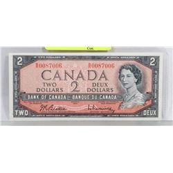 UNC 1954 CANADIAN $2 BILL