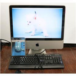 APPLE iMAC ALL-IN-ONE W/OSX EL-CAPITAN INSTALLED
