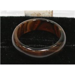 TIGERS EYE STONE RING, SIZE 7