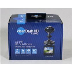 CLEAR DASH HD DASH CAMERA 1080P WIDE ANGLE