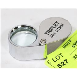 JEWELLERS MAGNIFIER ALL METAL 30 POWER