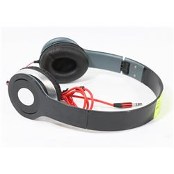 REPLICA BEATS OVER EAR HEADPHONES, BLACK
