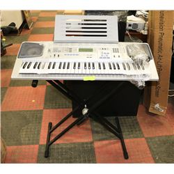 CASIO KEYBOARD WITH STAND AND BENCH MODEL CTK-591