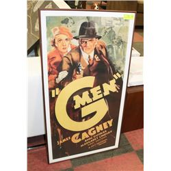 G-MEN MOVIE POSTER 21X37