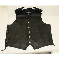 BLACK LEATHER HEADQUARTERS SIZE 3XL TALL LEATHER