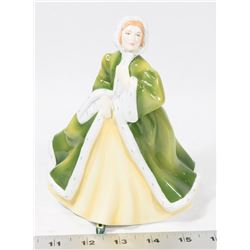 EMMA - ROYAL DOULTON PRETTY LADIES FIGURINE.