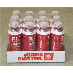 CASE OF BIOSTEEL SUGAR FREE SPORTS DRINK MIXED