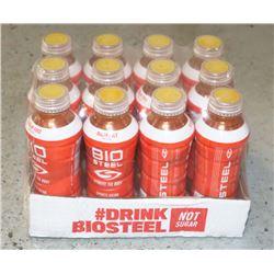 CASE OF BIOSTEEL SUGAR FREE SPORTS DRINK ORANGE.