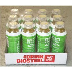 CASE OF BIOSTEEL SUGAR FREE SPORTS DRINK LEMON