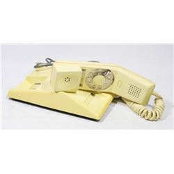 VINTAGE CONTEMPRA ROTARY DIAL PHONE.