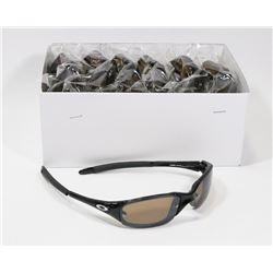 BOX OF OAKLEY STYLE SMOKE BLACK DESIGNER