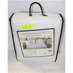 WATERPROOF MICROFIBER KING SIZE MATTRESS PAD