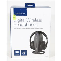 INSIGNIA WIRELESS TV HEADSET