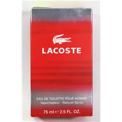 LACOSTE FOR MEN 2.5 FL OZ
