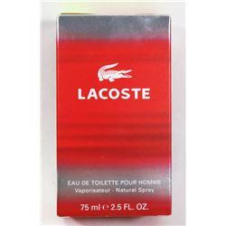 LACOSTE FOR MEN 2.5 FL OZ