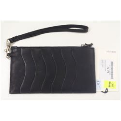 M0851 NAVY FLAT POUCH CARD HOLDER