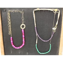 3 ASSORTED NECKLACES
