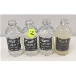 3 BOTTLE OF M0851 LEATHER CLEANER & 1 BOTTLE OF