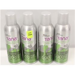 4 CANS OF TANA OILED LEATHER PROTECTOR