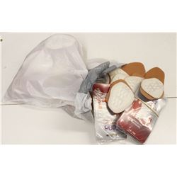 BAG OF ASSORTED ADHESIVE FOOT PADS