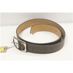 "30"" BRAVE BROWN OONA LEATHER BELT"