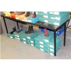 BLACK RECTANGULAR PRODUCT DISPLAY TABLE